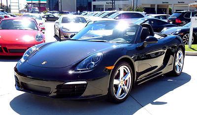 Porsche : Boxster S 3.4 2014 boxster s basalt black low miles