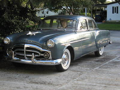 Packard : 2492 Series 200 1951 4 door series 200 model 2492 2 nd owner blue with tan interior