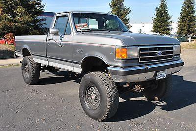 Ford : F-250 1989 ford f 250 xlt lariat 7.3 l diesel 4 x 4