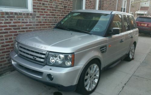 Land Rover : Range Rover Sport SUPERCHARGED 2006 range rover sport supercharged needs work