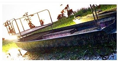 Hunting Boat w/ Trailer: 18ft Custom Fins & Feathers
