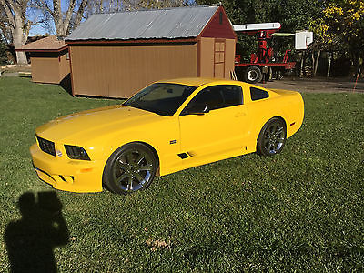 Ford : Mustang 2006 ford mustang saleen s 281 sc s 281 sc yellow automatic svt cobra supercharged