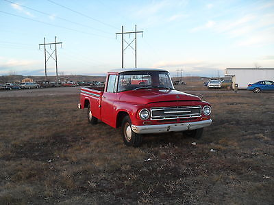 International Harvester : Other pickup 1967 international harvester 1100 pickup rust free