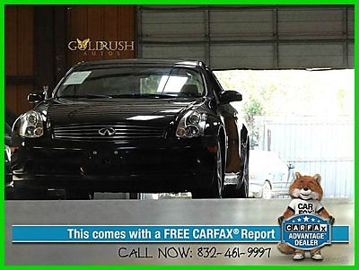 Infiniti : G35 Base Coupe 2-Door 2006 used 3.5 l v 6 24 v automatic rwd coupe premium