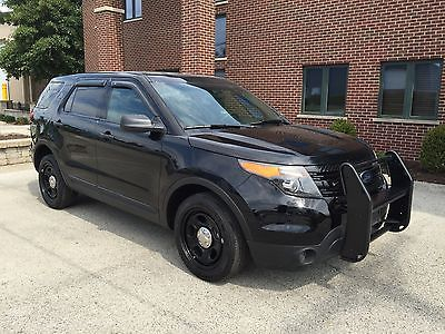 Ford : Other Base Sport Utility 4-Door 2015 ford explorer police interceptor awd very clean only 448 miles best offer