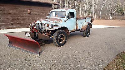 Dodge : Power Wagon Base 1955 dodge power wagon base v 8 318 ci
