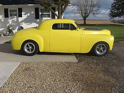 Plymouth : Other 1949 chopped plymouth business coupe