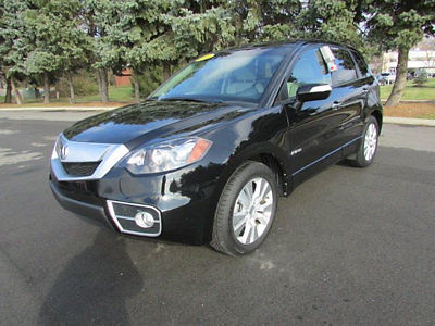 Acura : Other FWD 4dr Tech Pkg FWD 4dr Tech Pkg Low Miles SUV Automatic Gasoline 2.3L 4 Cyl Crystal Black Pearl