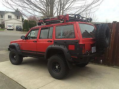 Jeep : Cherokee Sport Sport Utility 4-Door 1996 jeep cherokee ls 1 conversion
