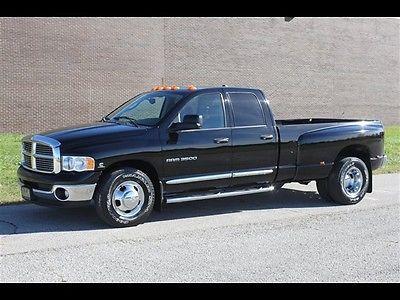 Dodge : Ram 3500 Laramie 4dr Quad Cab Laramie 2004 dodge ram 3500 laramie 4 dr quad cab 5.9 l cummins only 32000 miles