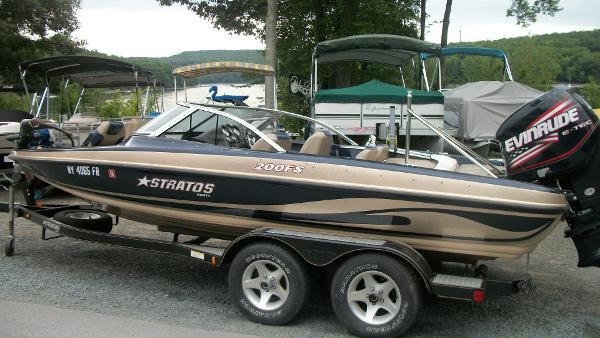 2006 Stratos 200 Fish-N-Ski