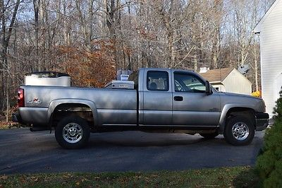 Chevrolet Silverado 2500 Ls Extended Cab Pickup 4 Door Cars For Sale