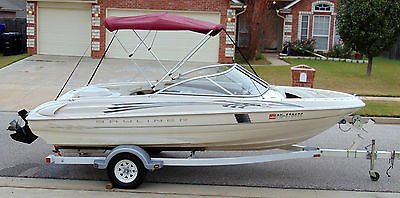 VERY NICE BAYLINER 175 BR CAPRI W/135HP MERCRUISER INBOARD ENGINE INCLUD TRAILER