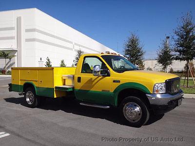 Ford : F-550 2002 ford f 550 custom john deere service body fl one owner 7.3 l diesel manual 2