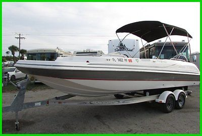 12 Hurricane SD 232 DECK BOAT ,150HP YAMAHA 4 STROKE, TRAILER INCLUDED