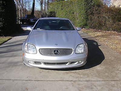 Mercedes-Benz : SLK-Class 37 700 mi 2001 mercedes benz slk class 320 roadster 3.2 l hardtop convertible