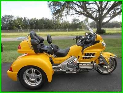 Honda : Gold Wing 2005 gold wing 1800 trike champions indpendent rear low miles super clean