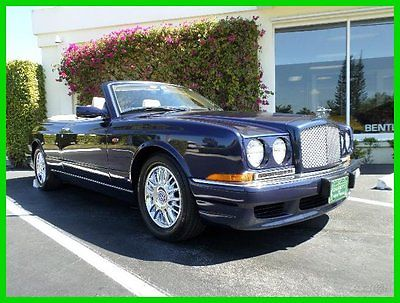 Bentley : Azure Base Convertible 2-Door 2002 used turbo 6.8 l v 8 16 v automatic rwd premium