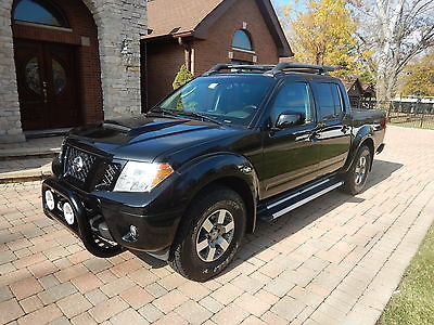 Nissan : Frontier PRO-4X 2011 nissan frontier pro 4 x off road loaded extra clean