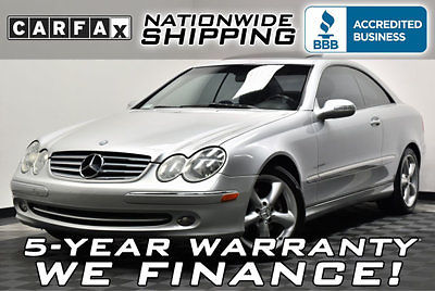 Mercedes-Benz : CLK-Class CLK320 Low Mileage Loaded Appearance Pkg Leather Roof Heated Seats - Service Records