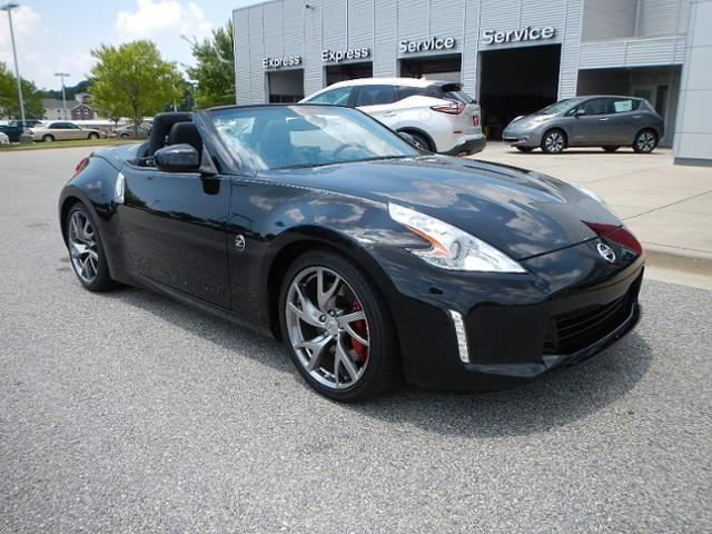 Nissan : 370Z 2dr Roadster 2 dr roadster certified convertible 3.7 l nav cd certified vehicle am fm stereo