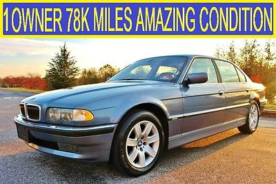 BMW 7 Series LWB 1 Owner 78 K Miles Bwm 740 Il Amazing Condition