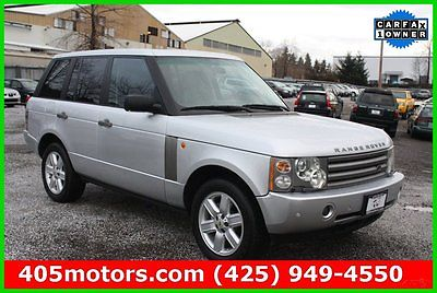 Land Rover : Range Rover HSE Certified 2004 hse used certified 4.4 l v 8 32 v automatic 4 wd suv premium moonroof