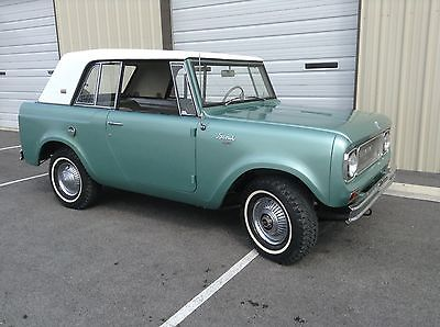 International Harvester : Scout Sportop 1967 scout sportop