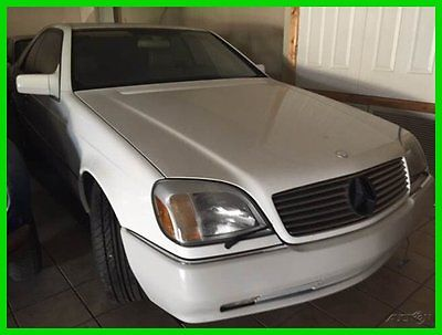 Mercedes-Benz : S-Class S600 2dr Coupe 1995 s 600 2 dr coupe used 6 l v 12 48 v automatic coupe premium