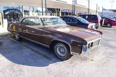 Buick : Electra 225 GREAT BONES STARTED RESTORATION 1969 Buick Electra 225 Custom, Runs and Drives