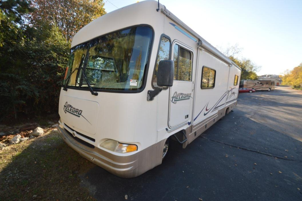 tiffin motorhomes allegro bay 32 with slide rvs for sale rh smartrvguide com