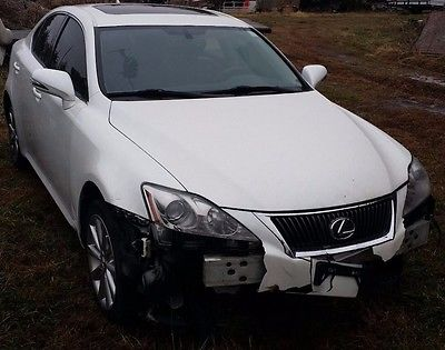 Lexus : IS 2010 lexus is 250 awd salvage repairable ez fix