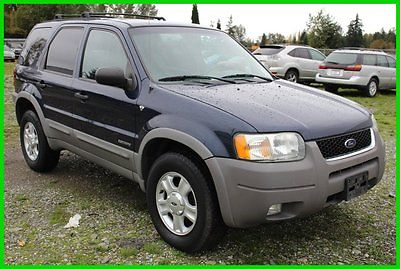 Ford : Escape XLT Certified 2002 xlt used certified 3 l v 6 24 v automatic awd suv