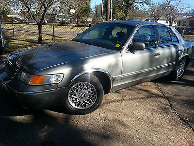 Mercury : Grand Marquis Grand Marquis GS 2002 mercury grand marquis one owner great condition