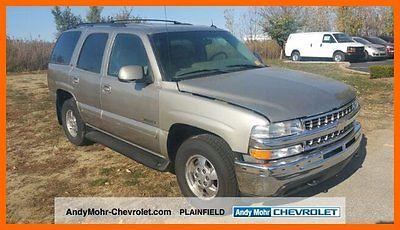 Chevrolet : Tahoe LT 2002 tahoe lt 5.3 l no reserve auction