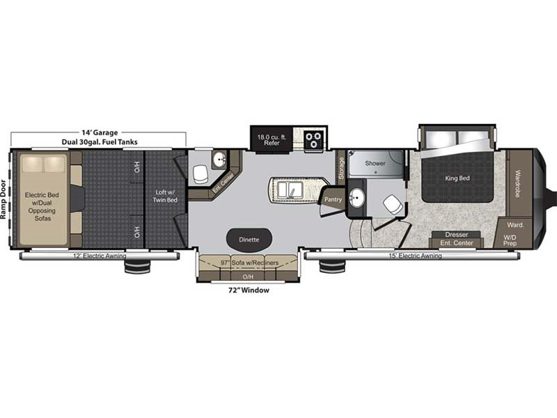 Keystone Montana 3700 Rl Rvs For Sale