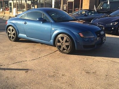 Audi : TT low mile free shipping warranty 225 quattro rare 6 speed coupe cheap