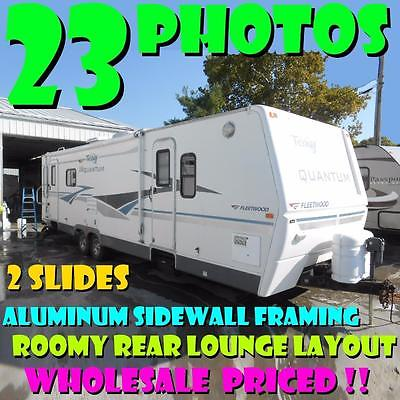 NO HAGGLE PRICE! 05 Terry Quantum 330RLDS WINTERIZED 2 slides rear lounge WOW