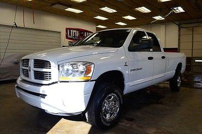 Dodge : Ram 3500 SLT cummins 4wd 1 ton 4x4