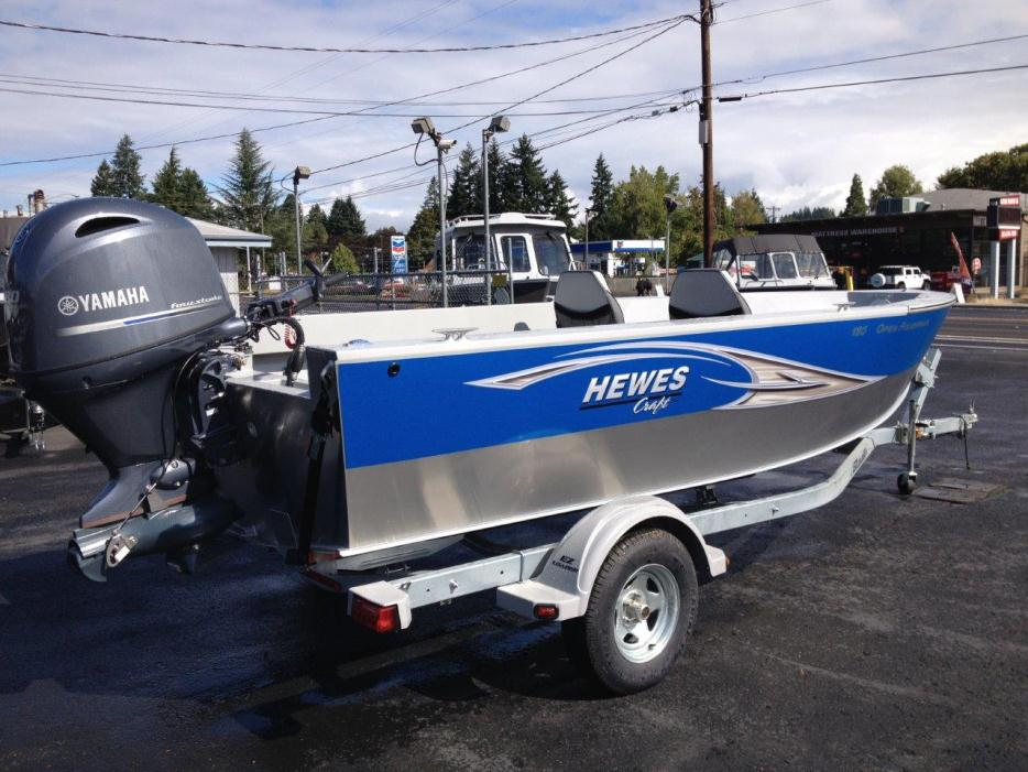 Hewescraft open fisherman boats for sale in portland oregon for Yamaha dealers in oregon