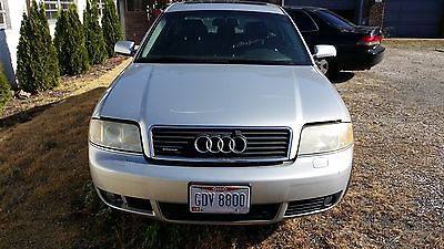 Audi : A6 2002 audi 2.7 t v 6 twin turbo 30 v automatic awd sedan no reserve auction