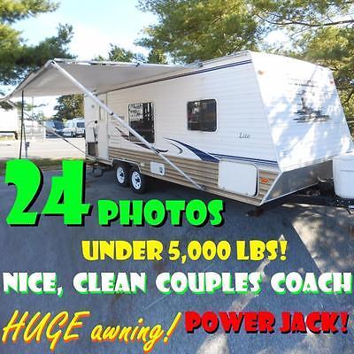 NO HAGGLE PRICE 07 Dutchmen 24Q-SSL WINTERIZED 4960 lbs rear bath super clean