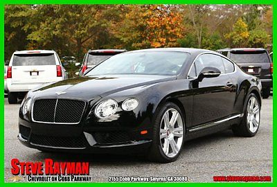 Bentley : Continental GT Will Not Last! 2013 continental gt v 8 coupe red stitching sports exhaust navigation backup cam
