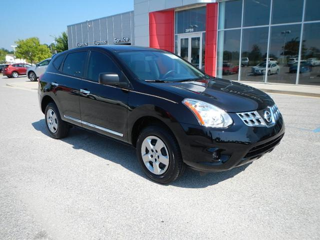 Nissan : Rogue FWD 4dr S FWD 4dr S SUV 2.5L CD Front Wheel Drive AM/FM Stereo Wheels-Steel Trip Computer