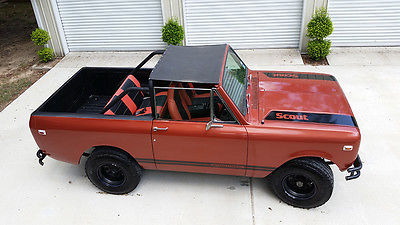 International Harvester : Scout Base Sport Utility 2-Door 1974 international scout ii