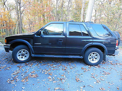 Honda : Passport EX 1995.5 1996 honda passport ex v 6 4 wd original owner none better for parts
