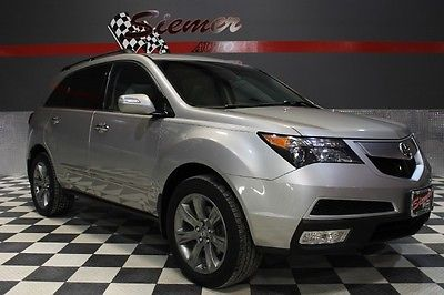 Acura : MDX Advance/Entertainment Pkg silver,