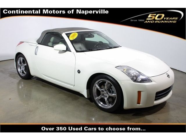 Nissan : 350Z Grand Tourin Grand Tourin Convertible 3.5L CD 7 Speakers AM/FM radio MP3 decoder ABS brakes