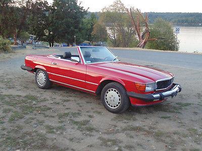 Mercedes-Benz : SL-Class 560 SL Mercedes-Benz,  SL-Class,  Convertible,  Clasic car,