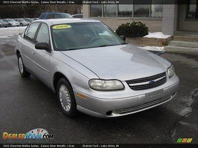 Chevrolet : Malibu 2002 chevy malibu